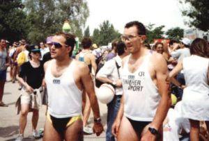 Triatleta Carlos Ferrero