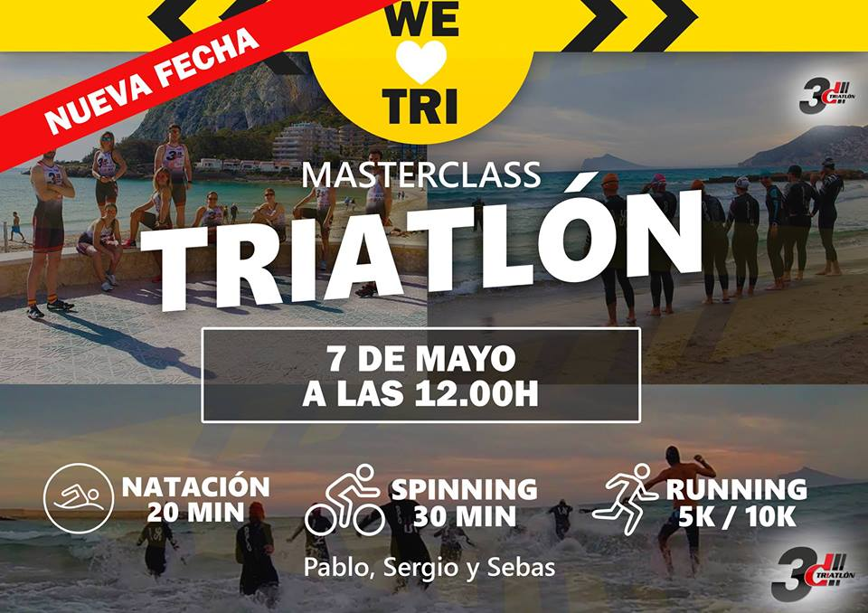 Club 3d Triatlón en masterclass de triatlón