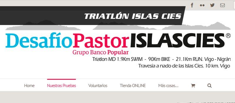 cabecera del triatlon islas cies