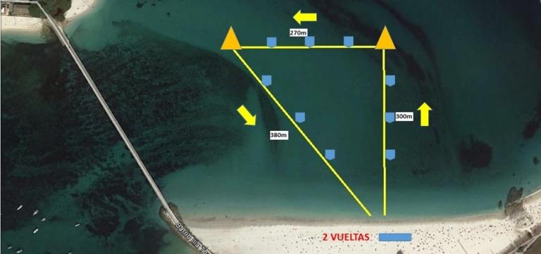 circuito de natacion islas cies