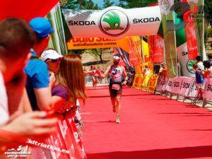 Club 3d Triatlon Madrid en el Santander Series