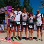 Club 3d Triatlón Madrid en el Día del Triatlón Cto. Comunidad de Madrid Triatlón Sprint (16 julio)