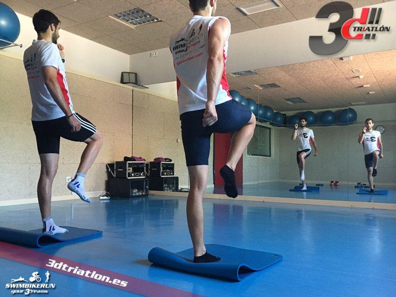 Entrenamiento de fuerza para triatlón