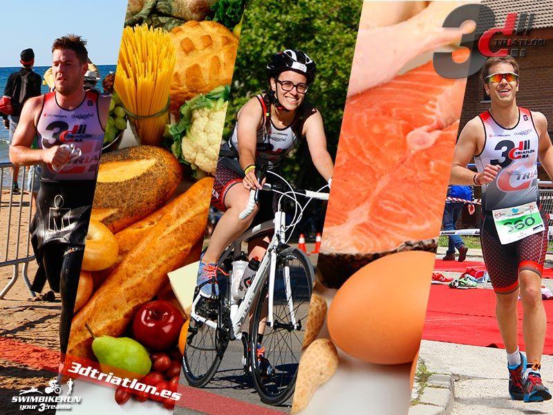 nutrición y triatlón