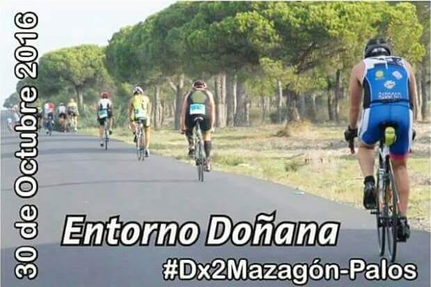 Club 3d triatlón Madrid en el triatlón de Mazagón