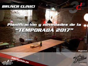 BRUNCH CLINIC - Planificación de la Temporada 2017! @ La Bicicleta Cafe | Madrid | Comunidad de Madrid | España