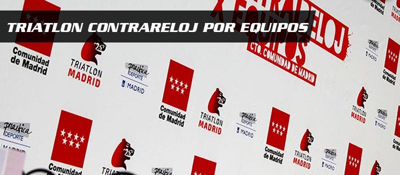 triatlon contrareloj por equipos madrid