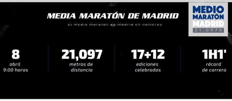 cabecera media maraton de madrid