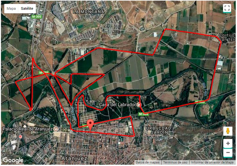 circuito media maratón de aranjuez