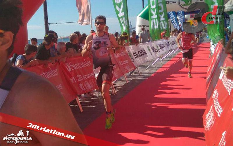 resultados Alvaro Arnal en el santander triatlon valencia