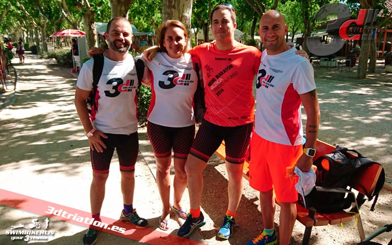 resultados y comentarios del santander triathlon series Madrid travesia acuatica