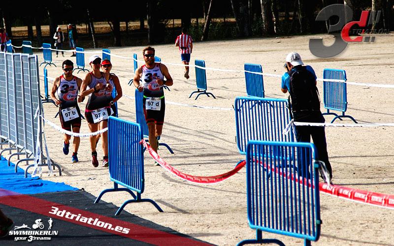 Club 3d triatlon Madrid en el Triatlon Contrarreloj por Equipos 2017