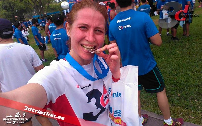 resultados de los atletas del club 3d triatlon madrid en la carrera ponle freno madrid 2017