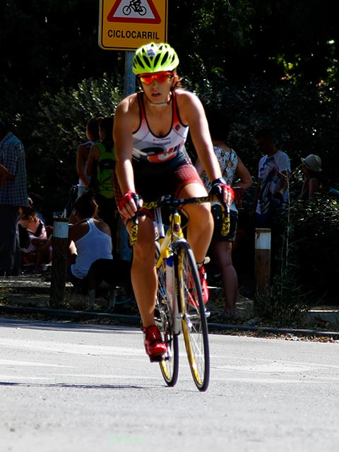 rocio orozco atleta club 3d triatlon madrid ciclismo
