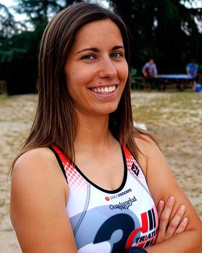 rocio orozco atleta del club 3d triatlon madrid