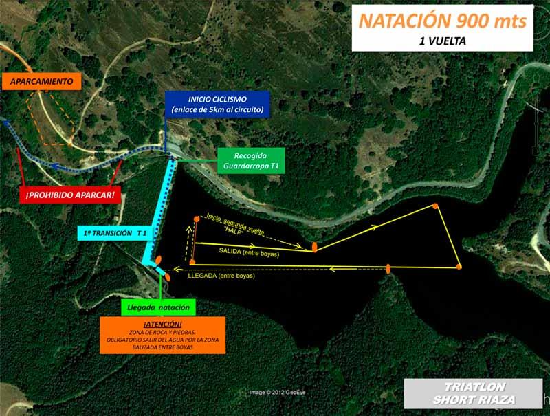 Circuito de natación triatlón Riaza