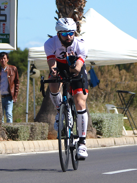 luis sanado atleta club 3d triatlon madrid bike