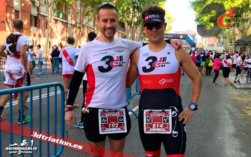 resultados atletas del club de triatlon carrera del rayismo