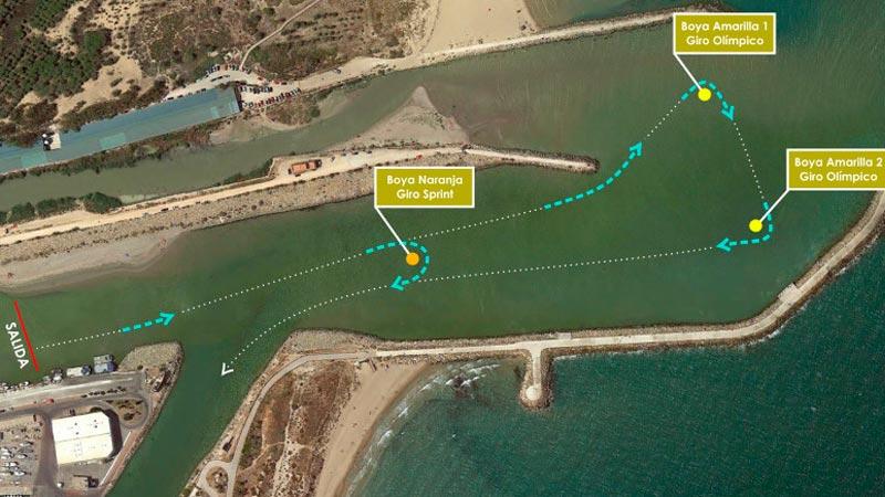 circuito de natación triatlón guardamar del segura