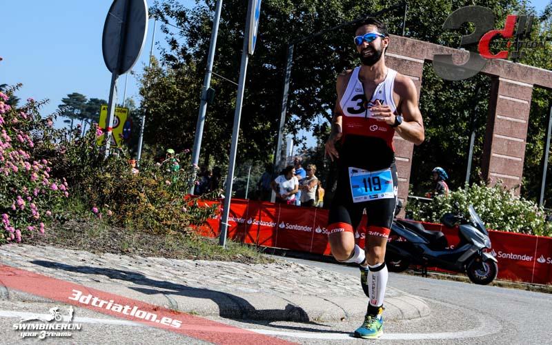 fotos triatlon islas cies 2018 club 3d triatlon madrid