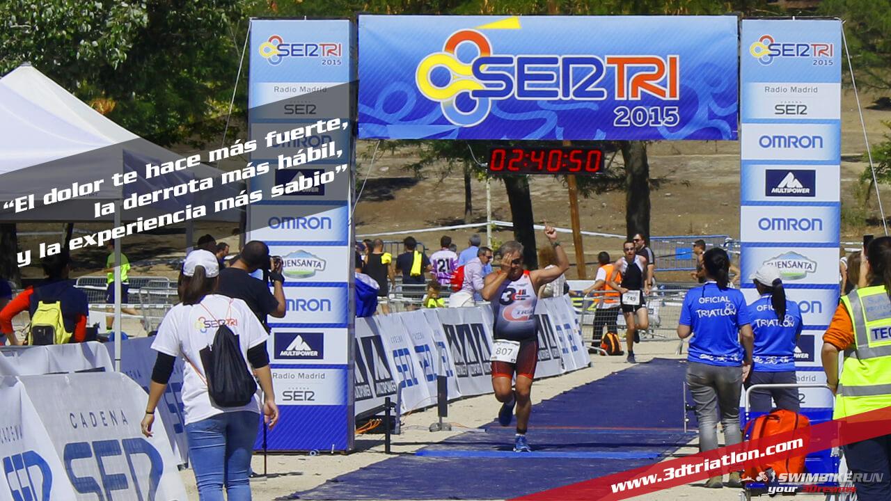 la motivacion es parte del entrenamiento de triatlon