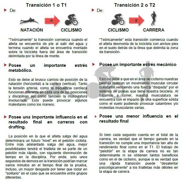 TRANSICIONES - Características generales