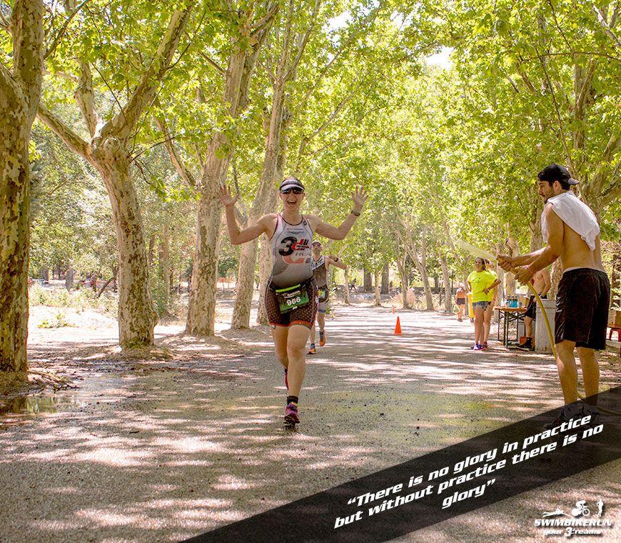Motivación y entrenamiento de triatlon