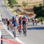 Cómo debes comportarte dentro de un pelotón ciclista en un triatlón?