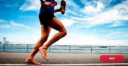 técnica de carrera minimalista en el entrenamiento de triatlon