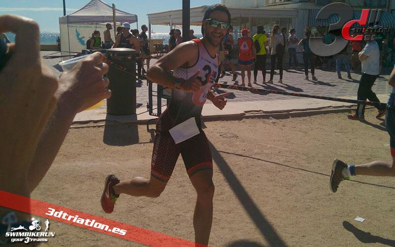resultado de David Jaramillo en el santander triatlon valencia