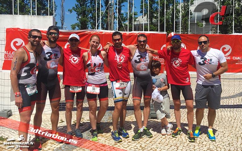 resultados del Challenge Triatlón Lisboa
