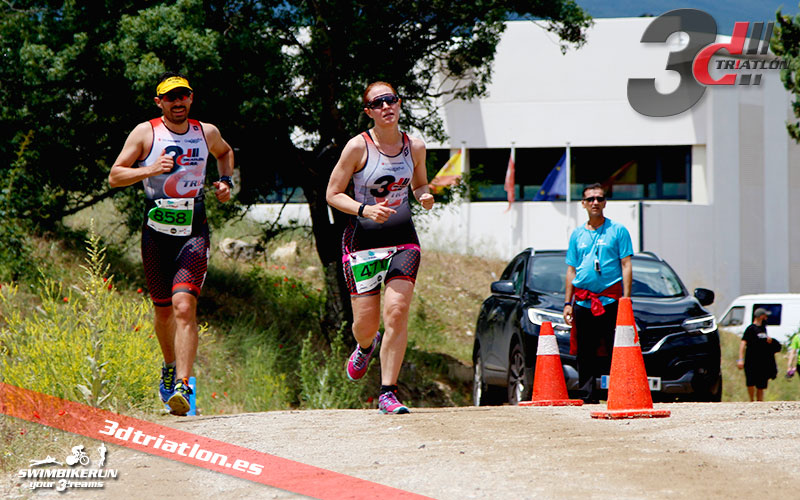 Club 3d triatlón Madrid en el triatlón Ecotrimad 2017