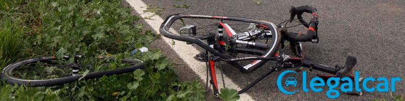 que hacer en caso de accidente en bicicleta