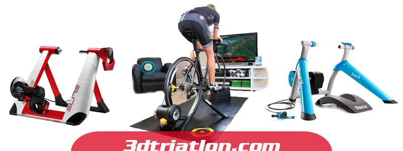 entrenamiento de triatlon en rodillo