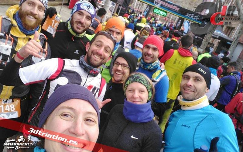 club 3d triatlon madrid en el desafio x trail trillo
