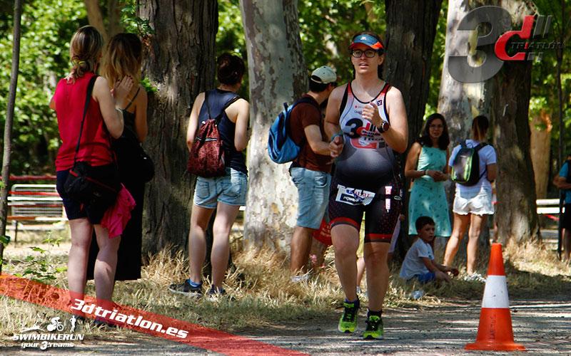 Club 3d triatlon en el triatlon villa de Madrid 2017