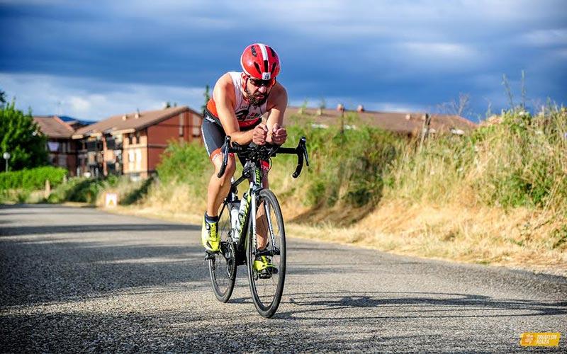 Raul atleta club 3d triatlon madrid en el triatlón Riaza