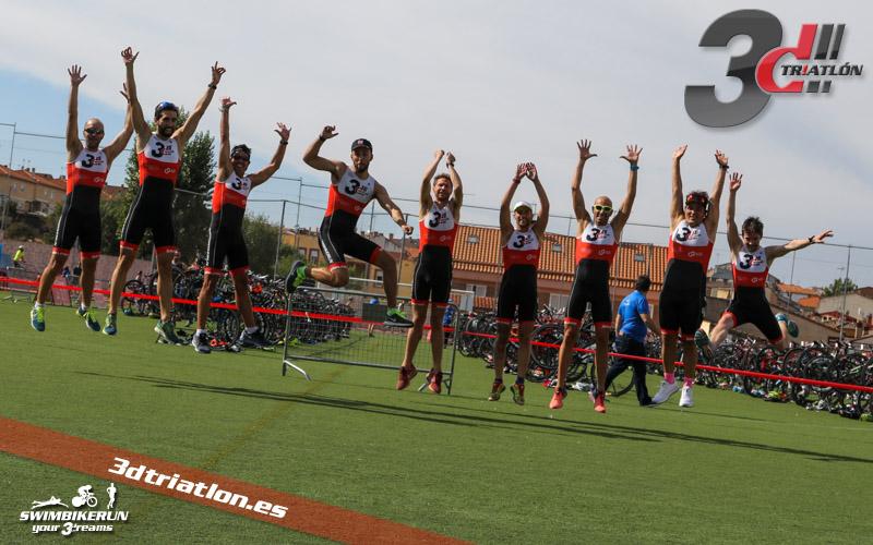 fotos del triatlón de pedrezuela 2018
