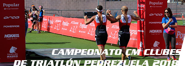 Fotos triatlón Pedrezuela 2018