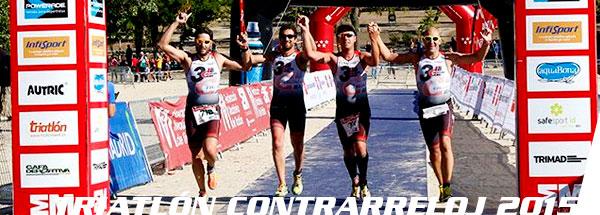 fotos triatlón contrarreloj por equipos 2015