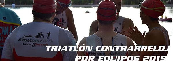 fotos triatlón contrarreloj por equipos 2019