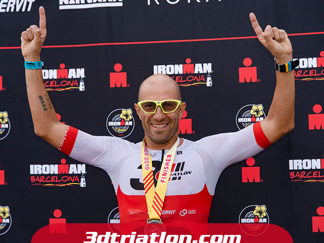 ironman triatlon barcelona reto ironman enervit finisher