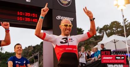 triatlon ironman de barcelona reto ironman enervit
