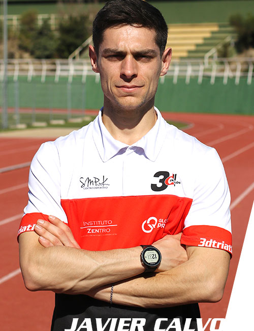 javier calvo moreno entrenador club 3d triatlón madrid