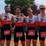 Resultados de nuestro club de triatlón en el triatlón Riaza 2020