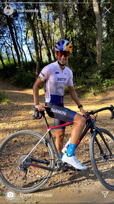 mario mola en el periodo de transición de la temporada club 3d triatlón madrid