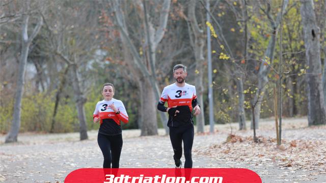 fotos maratón Madrid 2020 Club 3d triatlón 10