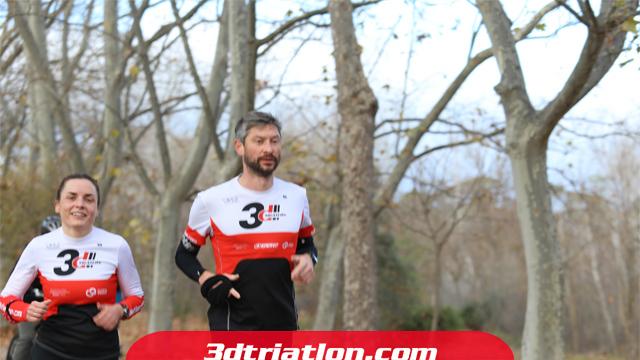 fotos maratón Madrid 2020 Club 3d triatlón 11