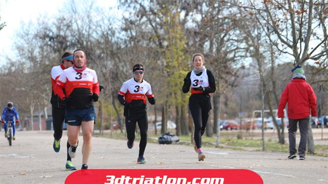 fotos maratón Madrid 2020 Club 3d triatlón 14