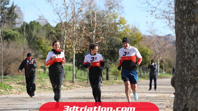 fotos maratón Madrid 2020 Club 3d triatlón 16